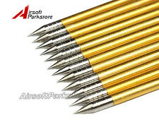 "12X 6.5"" Aluminum Bolts Crossbow Accurate Arrow Archery For 50 lb / 80 lb Pistol"