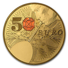2014 1/4 oz Proof Gold €50 Excellence Series (Baccarat) - SKU #85205