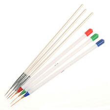 6Pcs/set Nail Art Brush Ongle Liner Drawing Pen Painting Paint Manicure Tool