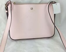 Kate Spade Charlotte Street Pink Irini Leather Cross Body Bag $198 ns9/13