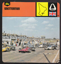 SNETTERTON British Car Race Track Circuit HISTORY CARD