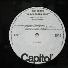 BOB SEGER The Bob Seger Story 1977 CANADA Promo Only Dbl LP Set MINTY!
