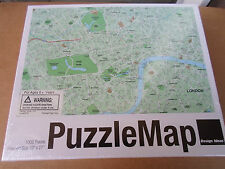 Design Ideas London 1000 Piece Jigsaw Puzzle England Map New Sealed NIB