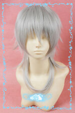 711 Touken Ranbu The Sword Dance Tsurumaru Kuninaga Sliver Gray Cosplay Wig