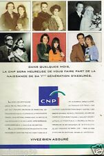 Publicité advertising 1991 CNP Assurances