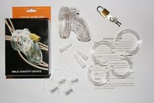 Chastity Device (CB) 6000 mins S Shorter Smaller, CBT Locking Belt Restraint UK