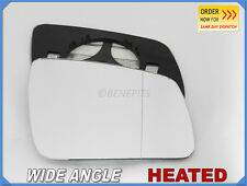 Wing Mirror Glass MERCEDES C-CLASS W204 2007-2009 Wide Angle HEATED Right #E016