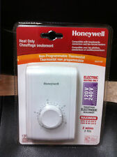 Honeywell RLV210A HEAT ONLY NON-PROGRAMMABLE THERMOSTAT electric heating 120/240