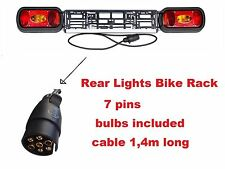 New Model Light boards Bike Rack, Cycle Carrier,Car Trailer 7 pins, cable 140cm