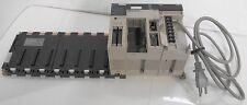 Omron Sysmac C200HX Programmable Controller & C200H-MD215 I/O w/ Power Supply +