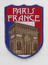 PARIS FRANCE SOUVENIR TRAVEL PATCH  -