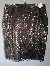 NWT $275 BLAIR STANLEY BLACK SEQUIN SKIRT SIZE 6