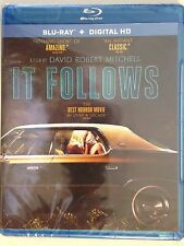 It Follows (Blu-ray Disc, 2015, Includes Digital Copy UltraViolet) (NEW/SEALED)