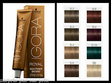 IGORA ROYAL High Power Browns BB BOOSTER CHATAIN  Coloration Schwarzkopf 60ml