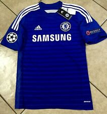 ENGLAND  CHELSEA LAMPARD  ADDIDAS SHIRT  CHAMPIONS LEAGUE SOCCER JERSEY   S,M L