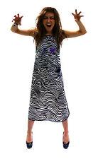 Herramientas del pelo Zebra Print teñido Delantal Repelente Al Agua/Tinte