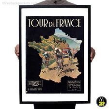Grand tour de france 1949 magazine cover rétro vintage cyclisme velo poster print