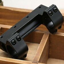 1inch 25.4mm Ring 11mm Rail See Through Rifle Scope Mount 11mm Picatinny Weaver