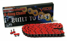 GSXR 600-750 Red Motorcycle Chain 525 x 150 Link O-Ring for Extended Swingarm