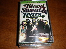 Blood Sweat & Tears CASSETTE The Best Of NEW