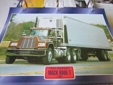 Super trucks sombreritos tractores estados unidos mack r600t 1983