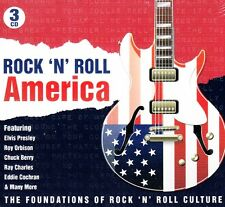 ROCK N' ROLL AMERICA .. 75 ORIGINAL HITS .. 3 CD'S .. 1950'S-62 VARIOUS OLDIES