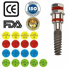 x45 Kit dental implant + abutment Internal-Hex system Sterile for direct use