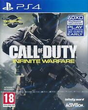 Call of Duty Infinite Warfare PS4 Game (English) (with Terminal Map DLC) NEW
