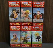 BANPRESTO ONE PIECE WCF World Collectable Figure - FIGHT!! - Complete set
