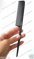 Hairdressers Barbers Pin Tail Rat Comb Flexible wont deform UK1st