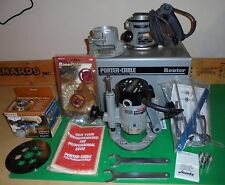 Porter Cable Model 6912 Router with Plunge Attachment & Metal Case
