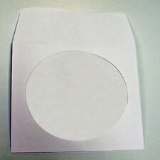 CD Paper Sleeve with Clear Window and Flap - 100 count
