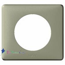 Plaque simple neutre Céliane kaki Legrand 68641