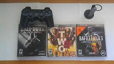 Black Ops 2, Battlefield 3, Army of Two 40th Day, PS3 Controller, PS3 Headset