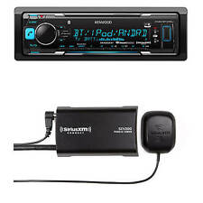 Kenwood Car Bluetooth USB AUX AM FM Receiver, Sirius Satellite Radio XM Tuner