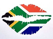 SOUTH AFRICAN Lips Car Sticker 12.5cm Iphone Ipad Wall Art Springboks S A R U