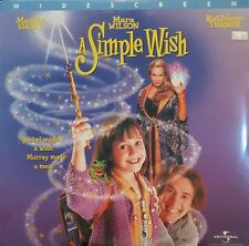Simple Wish, A (1997) [NTSC/LBX/SRD] [43359] Laserdisc