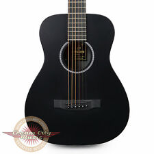 Brand New Martin LX Black Little Martin Travel Acoustic Guitar in Jett Black