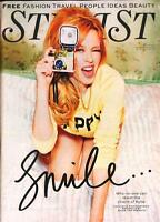 KYLIE MINOGUE BRAND NEW STYLIST UK COVER MAGAZINE - MARCH 2014 - NEW CONDITION