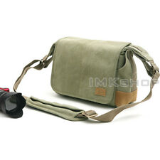 NEW MATIN BALADE-100 Green Camera Shoulder Bag for Mirrorless NEX NX X20 X10