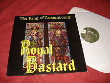 THE KING OF LUXEMBOURG Royal bastard RARE LP INDIE INDIEPOP el