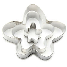 Funny Flower Fondant / Cookie Cutter Set Funky Hippy