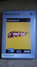 CRAZY TAXI - PLATINUM - SONY PLAYSTATION 2 - PS2 - GAME - Complete