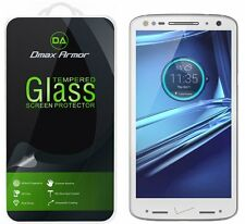 Dmax Armor® Motorola Droid Turbo 2 Tempered Glass Screen Protector Saver