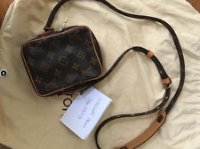 AUTHENTIC Louis Vuitton Monogram Mini Danube Shoulder Bag Cross body M45268