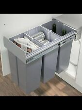 Hafele Pull Out Kitchen Recycling Bin 3X10 Litres Soft Close