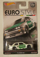 Hot Wheels 1:64 Euro Style - '92 BMW M3 Polizei. Brand new