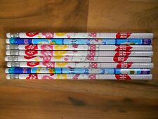 Collectible Pencils Lot Hello Kitty Animation Art Character 2011 Unsharpened
