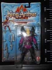 KING ARTHUR WARLORD SLASHER Vintage Mattel Knights of Justice Action Figure