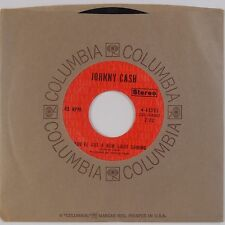 JOHNNY CASH: Singing in Viet Nam Talking Blues NM Stock Columbia Country 45